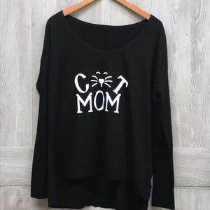 Cat Mom Ok To Be A Little Crazy Animal Lover BB241